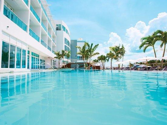 Bimini: Take a dip or swim a few laps in our beautiful lagoon pool.