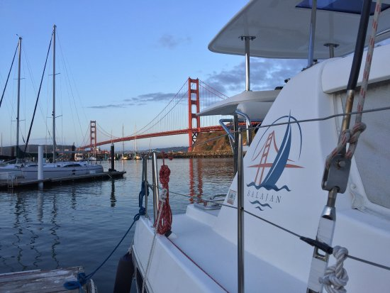 Richmond, CA: Ask for our overnight at the foot of the Golden Gate Bridge!
