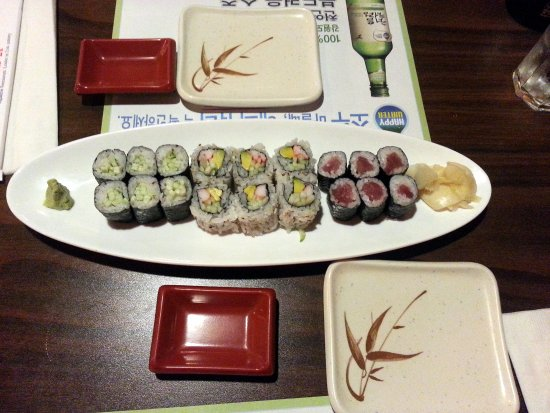 Sushi 21: the sushi lunch special - perfect amount, perfectly priced