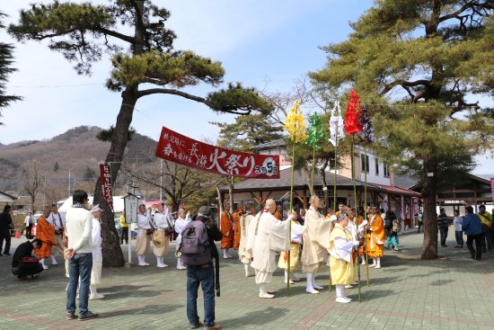 Nagatoro-machi, Nhật Bản: 観光案内所の前からお祭りスタートします