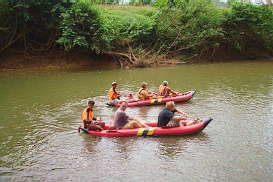 Phanom, Thailand: Canoeing @ Sok River