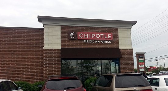 Niles, IL: side view of Chipotle Mexican Grill