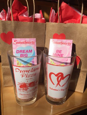 Chesterton, IN: our 2017 Valentines;s Day giveaway to all customers
