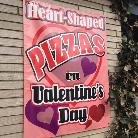 Chesterton, IN: Our busiest day of the year, but we'll make a heart-shaped pizza for you any time