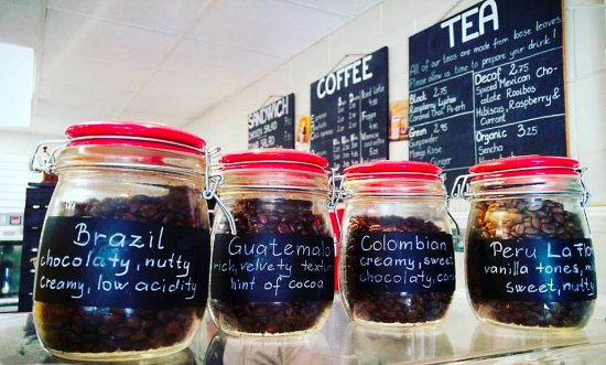 DeBary, FL: Organic, fresh roasted coffee beans from different parts of the world.