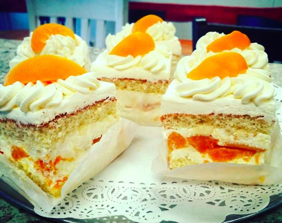 DeBary, FL: Peach Cream Torte