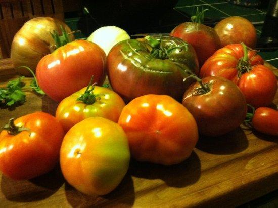 Hackettstown, NJ: chef's garden tomatoes