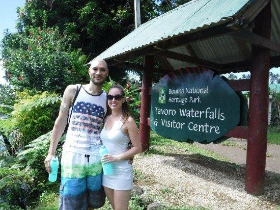 Qamea Resort And Spa Fiji: Bouma Waterfall