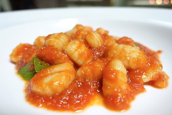 Ciao Koh Chang: Gnocchi with tomato sauce.
