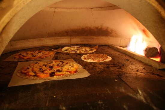 Greenwood Village, Colorado: Inside Our Pizza Oven