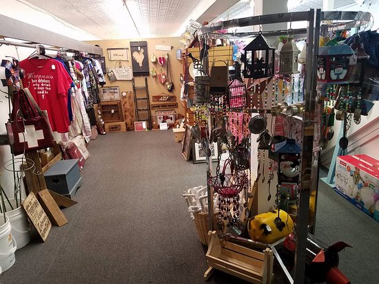 Monroe, WI: From funny shirts to wind chimes, we have something to make you smile:-)