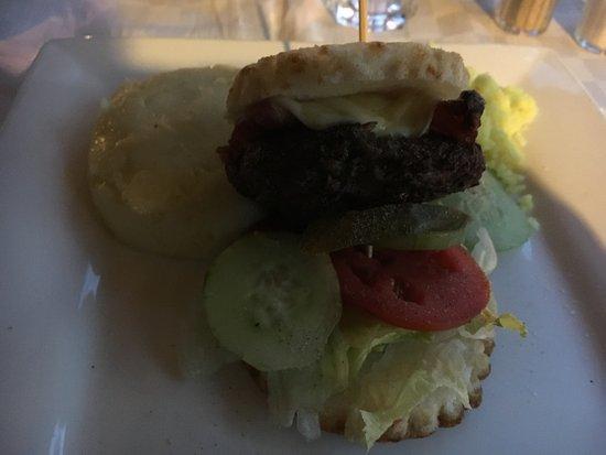 Fairview Hotel : Gluten Free Burger and Burger Buns