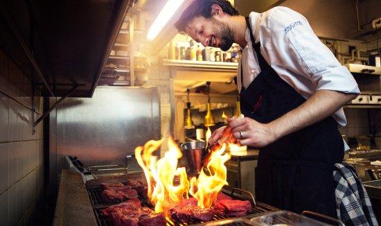 Кальмар, Швеция: Maten lagas från grunden med de bästa råvarorna och anpassas efter säsong.