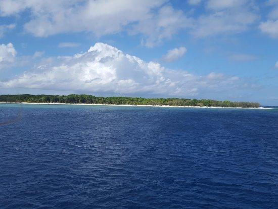 Bundaberg, Australia: île vue du bateau
