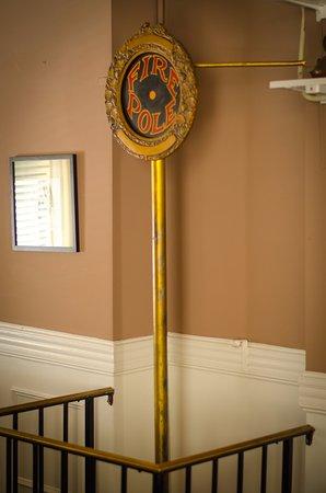 Binghamton, NY: Original Fire pole