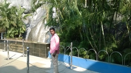 Arignar Anna Zoological Park : in front of Zoo