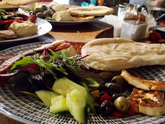 The Canteen: Our ever popular Turkish Breakfast