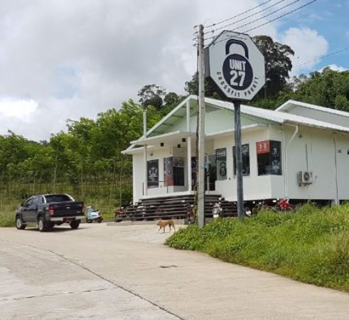 Chalong, Thailand: There are 2 training Centres. One along the main road and the one with classes is a 5mins walk u