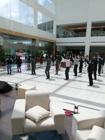 Pullman Kuching: The dancing Pullman Kutching employees
