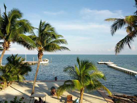 Caye Caulker, Belize: View from Seaside Villas