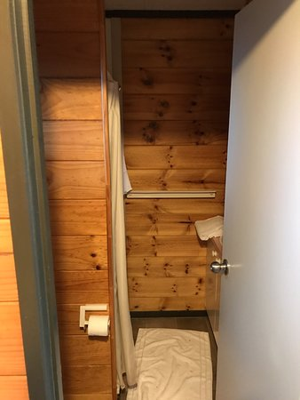 Turangi, Selandia Baru: bath and shower