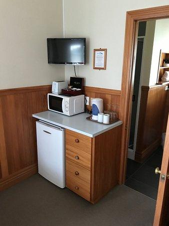 Huka Falls Resort: mini kitchenette