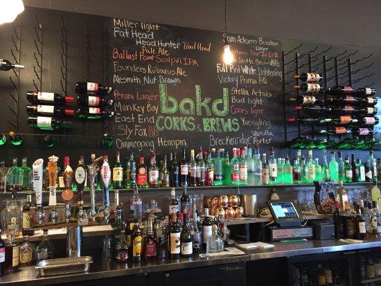 Robinson, Pensilvania: inside at the bar