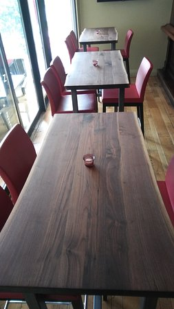 Zees Grill: New Live Edge Bar Tables