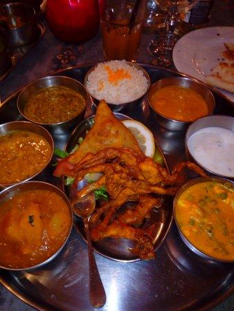 Rajasthan : Menu légumes (sans viande) excellent !