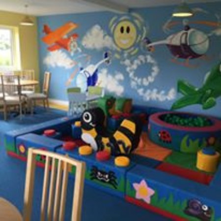 Sandtoft, UK: Our indoor play area
