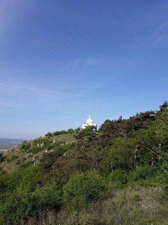 Mikulov, Czech Republic: na vrcholu svatého kopečku