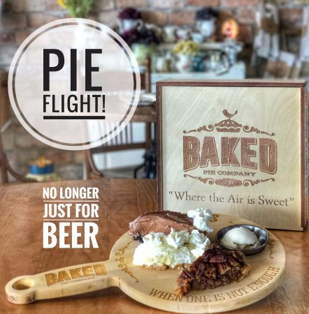 Arden, Βόρεια Καρολίνα: Pie Flight - Baked Pie Company