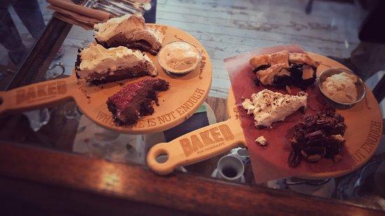 Arden, NC: Pie Flights - Baked Pie Company