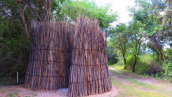 Kongola, Namibia: Shower with a difference