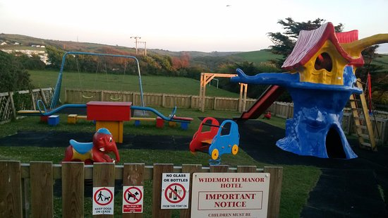 Widemouth Bay, UK: Children's Play area