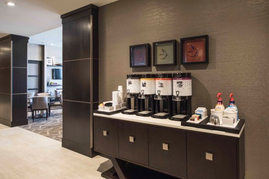 Bridgewater, Нью-Джерси: Complimentary Coffee Station