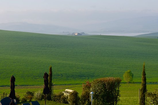 Monticchiello, Italien: Tuscan view.