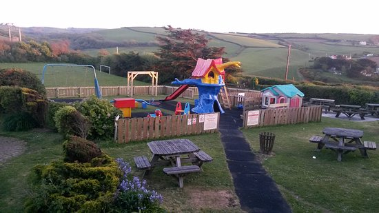 Widemouth Bay, UK: Childrens Play area 2