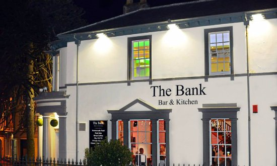 Brecon, UK: Bank Bar & Kitchen