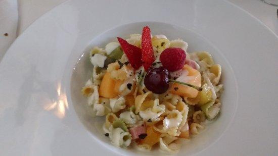 Mondariz, Hiszpania: ensalada de pasta