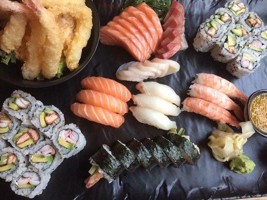Sushi Bar Kristiansund, nice interior and great food!