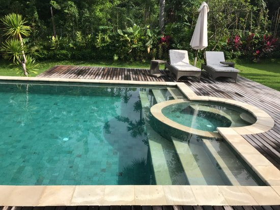Kubu, Ινδονησία: Private pool at the Relax Bali Residences