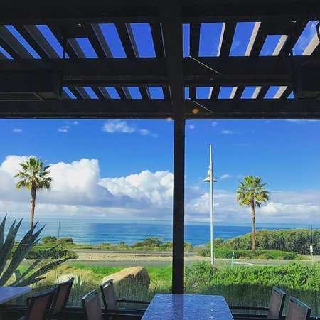 Cape Rey Carlsbad, a Hilton Resort: View from our breakfast table