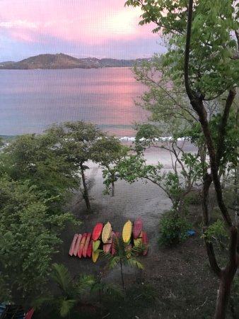 Four Seasons Resort Costa Rica at Peninsula Papagayo: Sunset from my balcony