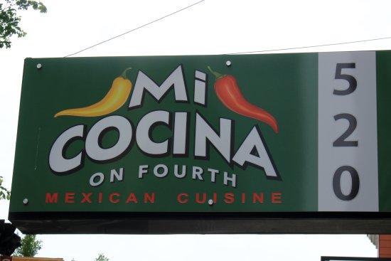 Outside Sign Picture Of Mi Casita On 4th Louisville Tripadvisor