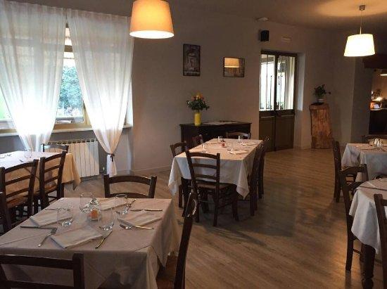 Villar San Costanzo, إيطاليا: Sala ristorante