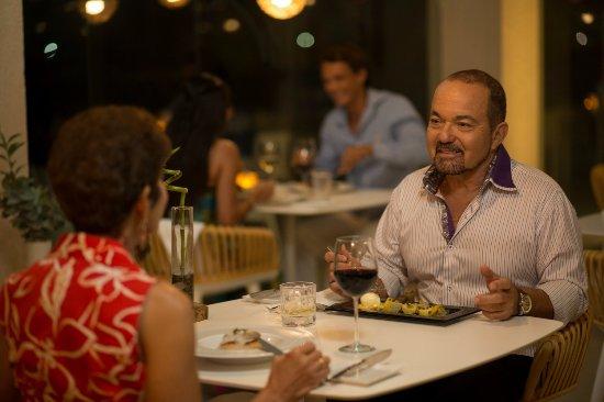 Malmok Beach, Aruba: Romantic dining experience