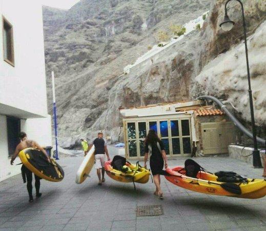 Los Gigantes, Spanien: alquiler de sup 6 kayak