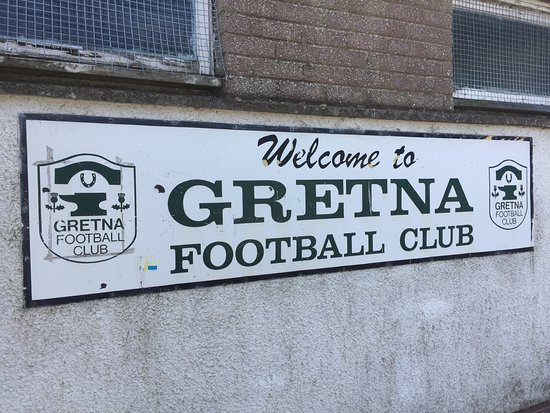 Gretna Green, UK: The ground