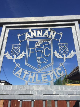 Annan, UK: The ground